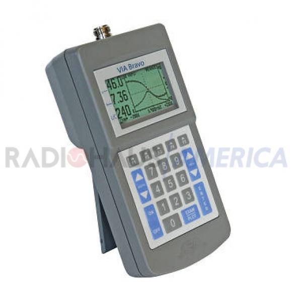 VIA Bravo II - 100KHz-to-200MHz Vector Network Analyzer - RADIOHAUS